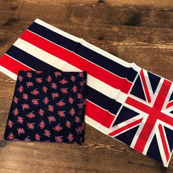 *new item☆**UNION FLAG シリーズSHAWL & STOLE & KITCHEN CLOTH☆** *