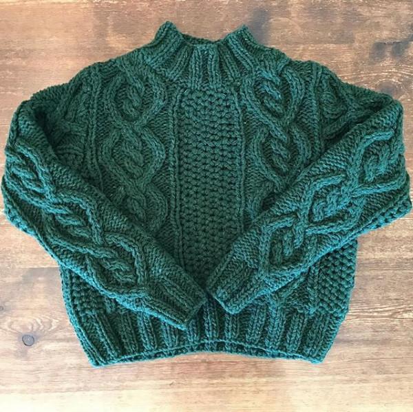 ..new item..hand knit.この雰囲気はなかなか無い...