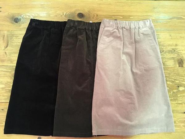 *new item☆**コール天のタイトスカート!**
