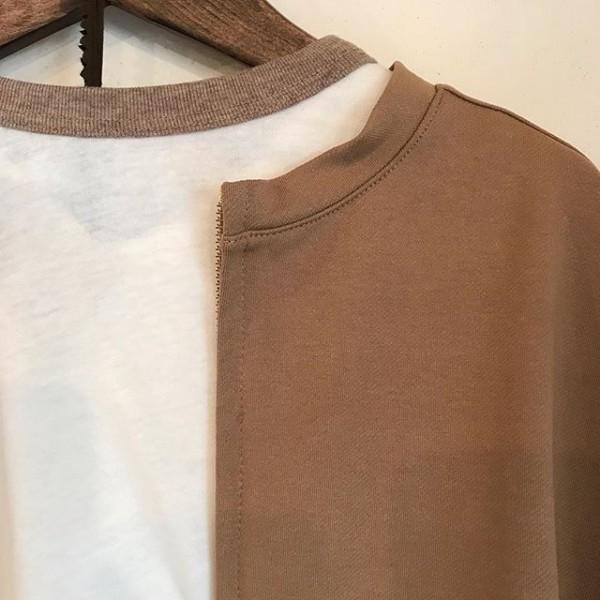 ..harmonieからnew item...裾ラウンド配色七分袖になります。3色展開です。サラリとして着心地抜群です。...