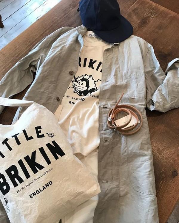 ..春よ来い!..BRIKIN Tシャツホワイトとオフホワイトあります。...