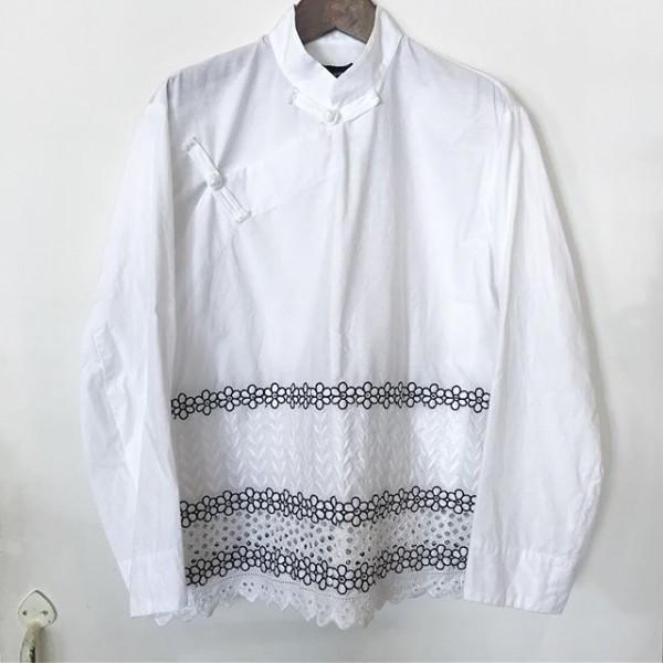 **New itemsチャイナカラーシャツ**