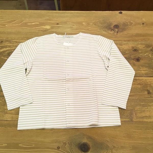 *new item♪**ボーダーのドットボタンのカーディガン&半袖Tシャツが入荷しました。**