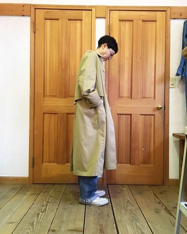 *new item♪**Tシャツとデニム!シンプルでいい!**コートはまだまだ必要かなぁ?**