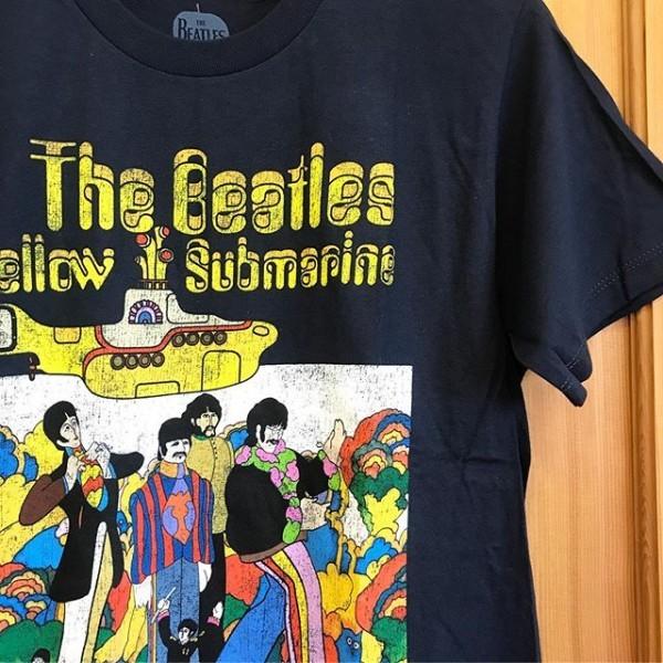 """**インポートのバンドTシャツ入荷しました。ビートルズ""""Yellow Submarine""""*Size S,M,LPrice ¥3900**"""