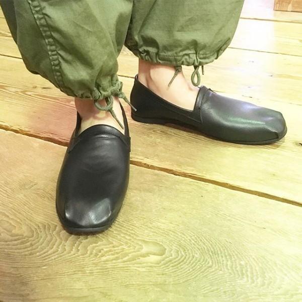 *履き心地良い靴です。**ブラックレザーシューズ!¥10800**