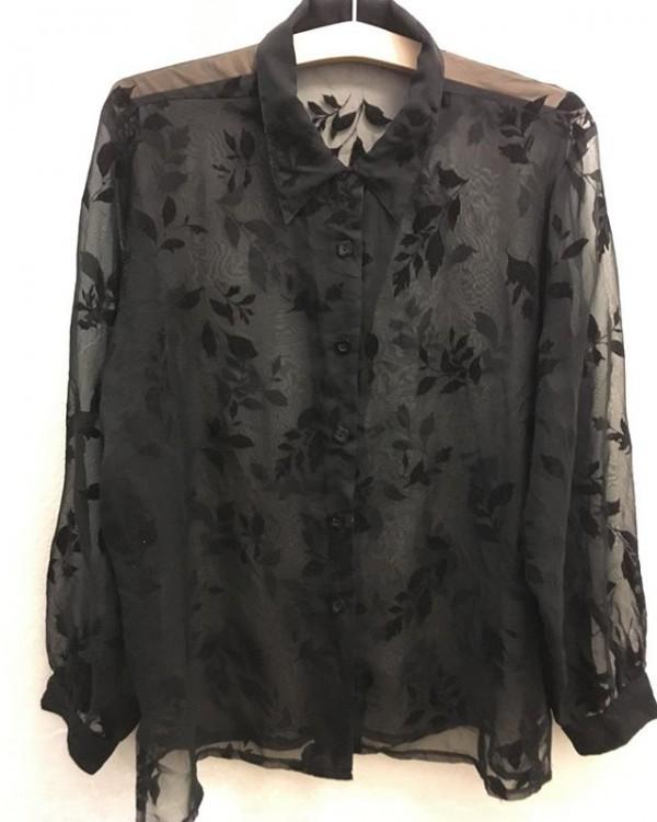 *new item♪**vintage blouse**