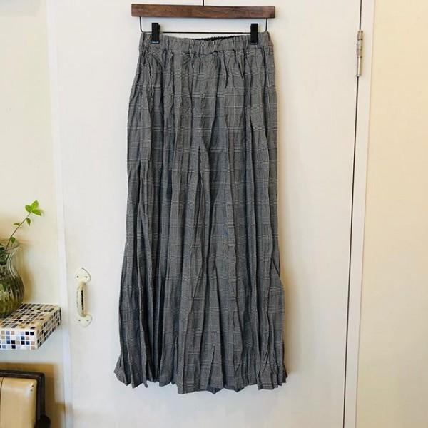 *new item☆***秋物入荷してきましたミズイロインドからプリーツスカート***