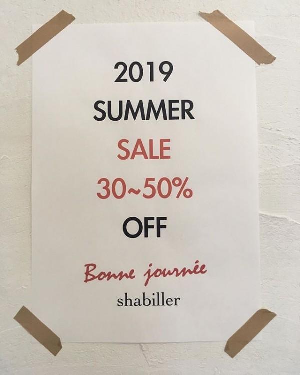 *summersale!**30〜50%off**