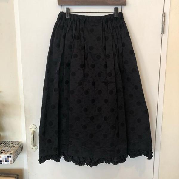 ** new item☆** *ドット柄と裾のフリルがとても可愛いスカート♪***