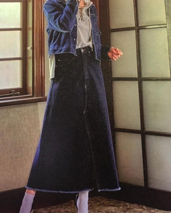 *new item♪**デニムのフレアスカートが入荷してきました。**