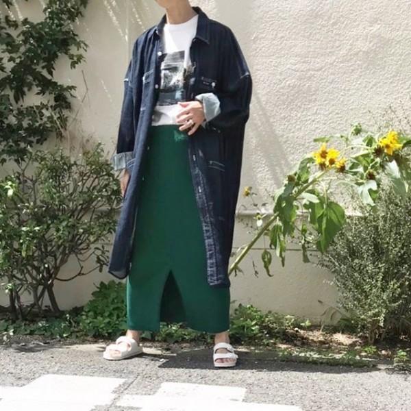 *new item♪ビックシャツ羽織って!