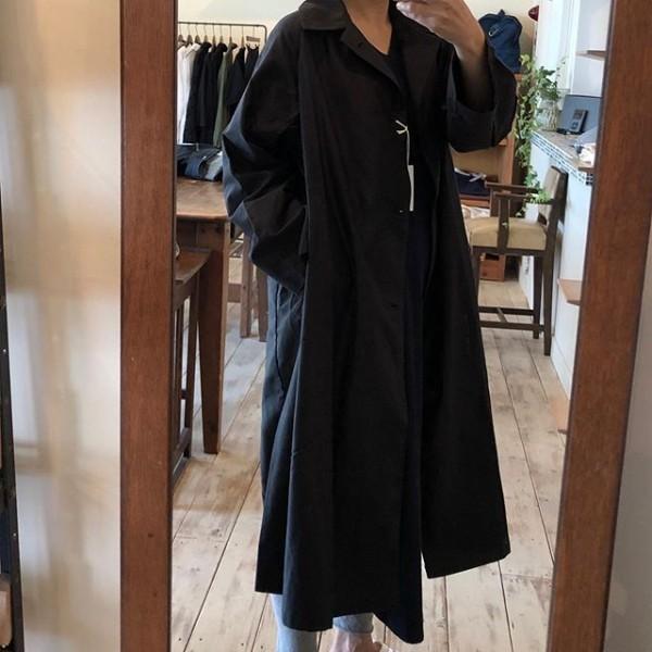 *new item☆** *秋に活躍するステンカラーコートですサッと羽織るだけで形になる便利なコートです!***