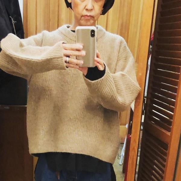 *newitem♪***袖のふっくらしたデザインが素敵なセーター!**