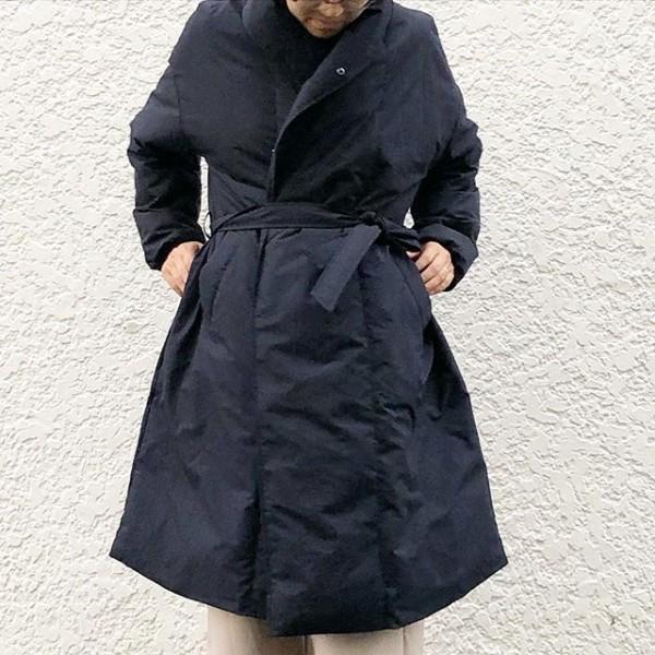 *newitem♪***ダウンコートが入荷しました。ショルダーネックは首回りが暖かです。***