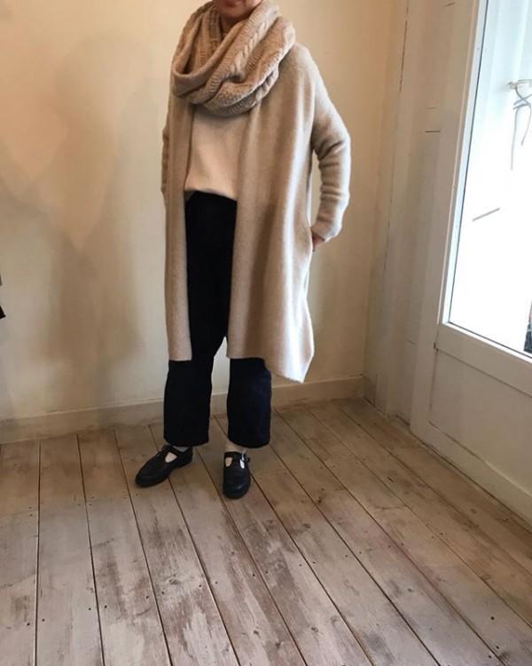 .コートの代わりになるぐらい軽く暖かい。..