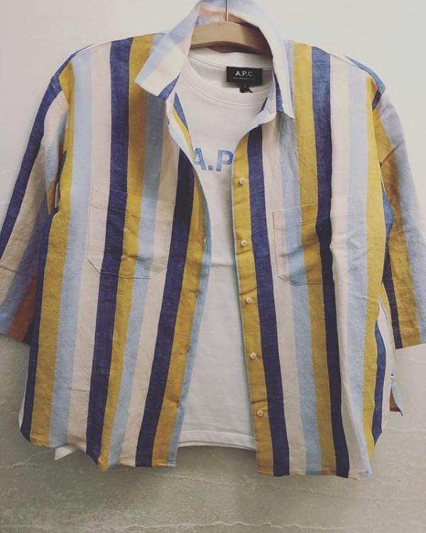 *new item♪... 【sacrecoeur(サクレクール)】 2016年にスタートしたフランス発のシャツブランド。 コンセプトは自由、光と風を感じるリラックスしたエレガンス。 ..