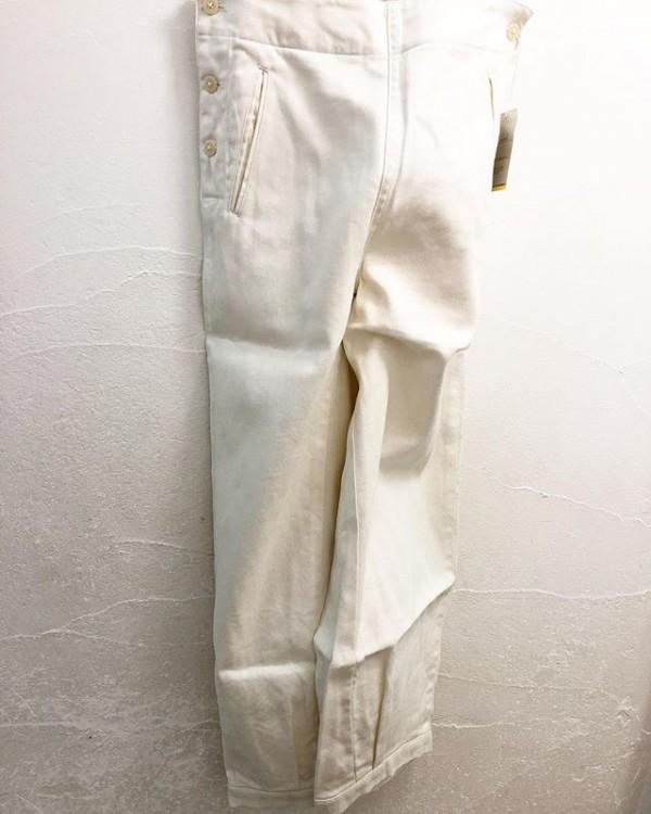 *new item ♪..chimalaのマリンパンツ入荷しました。..裾のしぼりがいい!..