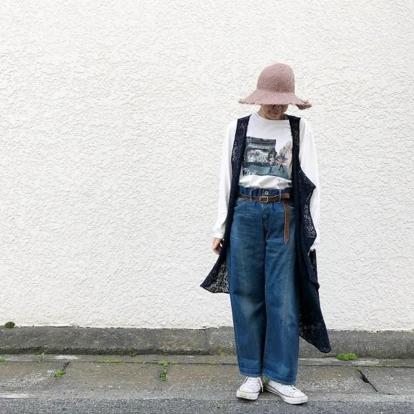 *...レースのベスト?ワンピース?..price…onprice¥28600.  tops...janesmith  pants..chimala .