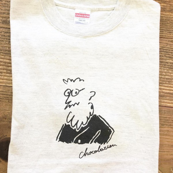 *new item☆..ヨーロッパの風景をテーマに作ったTシャツのご紹介です。..¥3900+taxサイズS.Lがあります。..