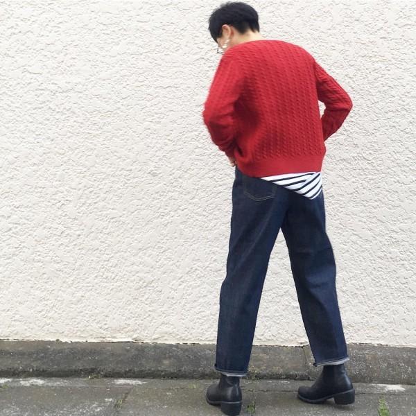 *new item♪***RED!クラシックなセーター **