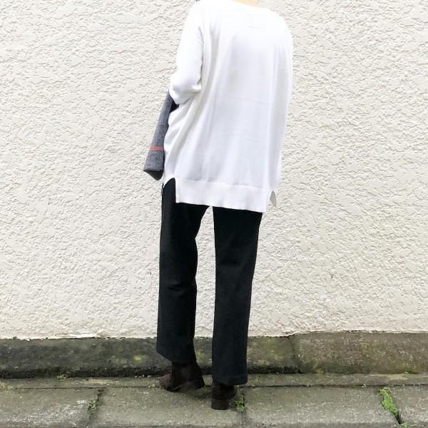 *newitem♪***Vネック!**カシミヤ混でサラッと着れる。***price  トップス…¥17000  ボトム …¥16000