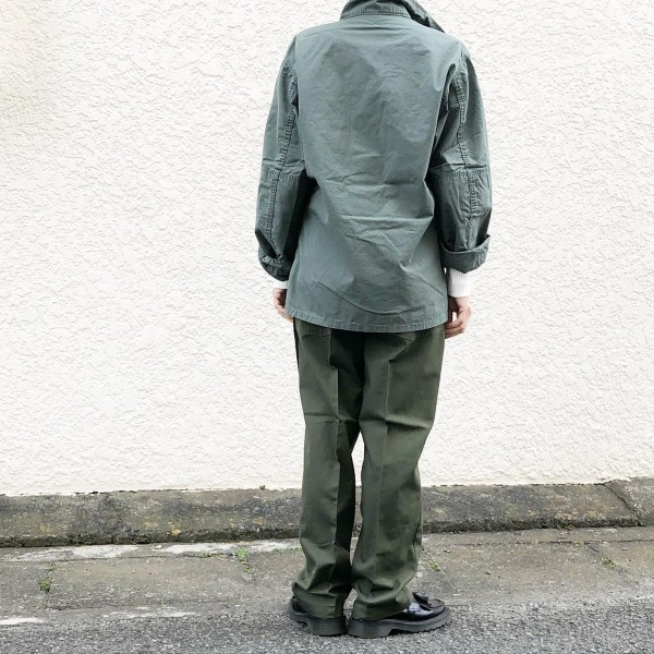 *newitem♪**デッドストックのアーミージャケットとベイカーパンツ!**jacket…¥11000pants…¥5800**