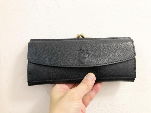 *イルビゾンテのお財布!**がま口とカードが入る長財布**