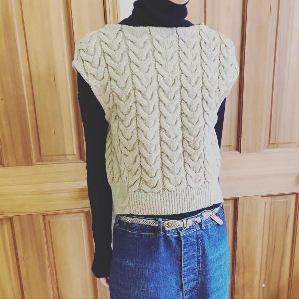 *new item♪**cotton Knit!**今の時期はベストで!夏は一枚で!**
