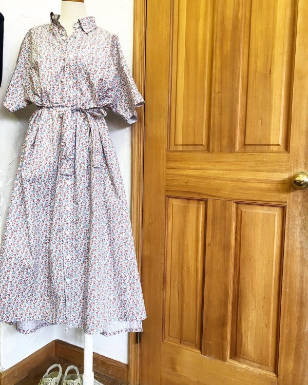 *new item♪...ENGINEERED GARMENTS..Flower printワンピース..