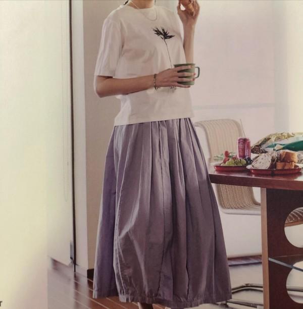 *new item♪..パープルのスカートで軽やかに!...
