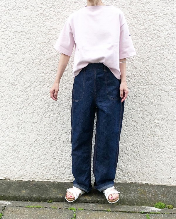 *new item♪セントジェームスのドロップショルダー! ..tops…¥9000pants…¥19000shoes…¥9500