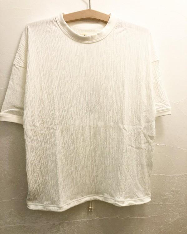 *new item☆..楊柳のTシャツ入荷しました。軽くて気持ち良い素材です。さらっと着れる感じ。..¥8000+tax..
